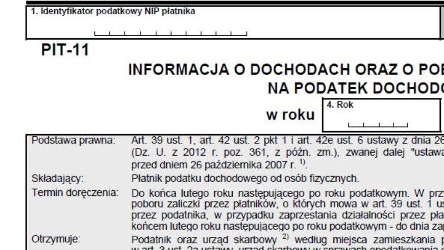 Zmiany w przekazywaniu informacji przez płatników